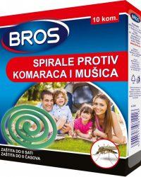 BROS Dimna spirala protiv komaraca (10 kom)